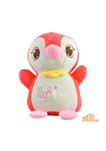 Maylee Cute Plush Penguin  25cm (Red)