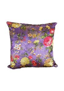Maylee Pillow Case with Pillow  (CNY-Purple)