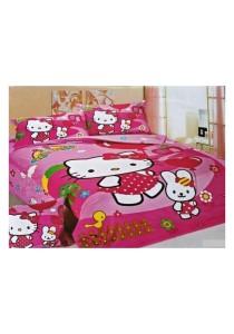 Cartoon Themed Single Sized Bedding Set of 3 (HK)