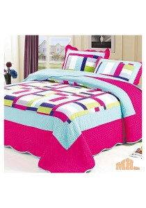 Maylee Sj101 Cadar Patchwork Cotton Set of 3