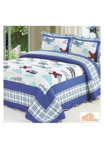 Maylee Yh8075 Cadar Patchwork Cotton Set of 3