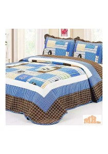 Maylee Yh8122 Cadar Patchwork Cotton Set of 3