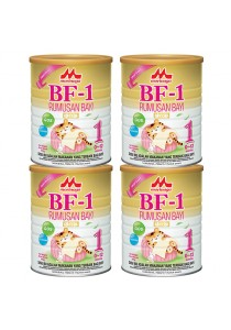 Morinaga BF-1 Infant Formula Milk Powder (0-12 month) 900g (4 tin)
