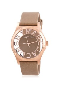 Marc by Marc Jacobs Skeleton Leather Strap Ladies Watch MBM1245