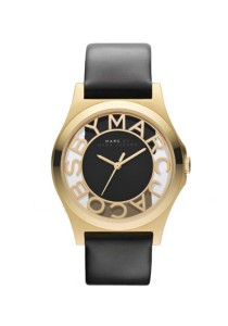 Marc by Marc Jacobs Women's Watch Black Leather Strap MBM1246