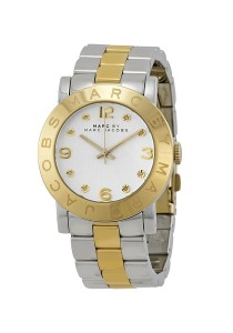 Marc by Marc Jacobs Women's Amy Rose-Tone Stainless Steel Watch with Link Bracelet MBM3139
