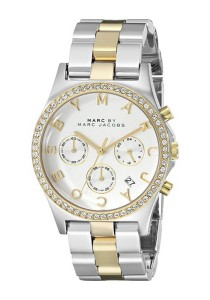 Marc by Marc Jacobs Women's Henry Two-Tone Stainless Steel Watch with Link Bracelet MBM3197