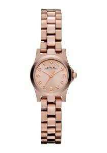Marc by Marc Jacobs Rose Dial Stainless Steel Quartz Ladies Watch MBM3200
