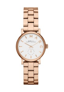 Marc by Marc Jacobs Ladies Baker Rose Gold Tone Watch MBM3248