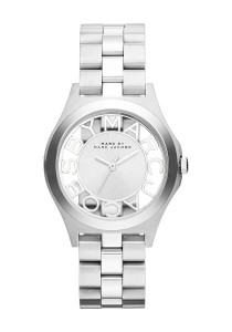 Marc by Marc Jacobs Women's Henry Skeleton Silvertone Stainless Steel Quartz Watch MBM3291