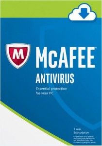 Mcafee Antivirus Plus 2017 - 1 Year 1 PC - Digital Download - Windows 10 8.1 7 Supported