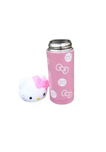 Kitty Stainless Steel Thermal Flask (Pink)