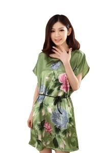 Silk Batwing Nightgown