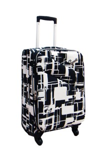 Summit 24 Inch ULTRA LIGHTWEIGHT Suitcase Trolley (ME1314 Black)