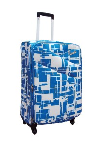 Summit 20 Inch ULTRA LIGHTWEIGHT Suitcase Trolley (ME1314 Blue)