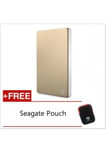 Seagate Backup Plus Slim Portable Drive 1TB STDR1000309 FREE Pouch *Limited Edition