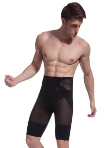 Men's Slimming & Shaping Pants (Black)