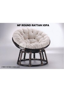 MF Design Round Rattan Sofa