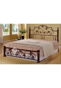 MF Design Michele Queen Size Iron Bed