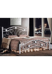 MF Design Julia Queen Size Iron Bed
