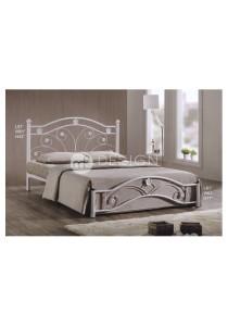 MF Design Sloretta Queen Size Iron Bed