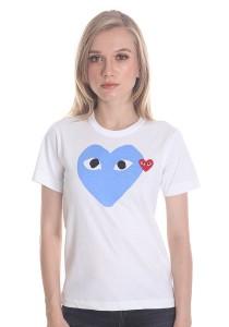 Comme des Garcons Women's Short Sleeve T-shirt [DL00012] White