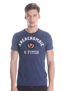 Abercrombie & Fitch Men's Short Sleeve T-shirt [878] Denim