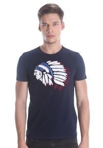 Abercrombie & Fitch Men's Short Sleeve T-shirt [805] Dk. Blue