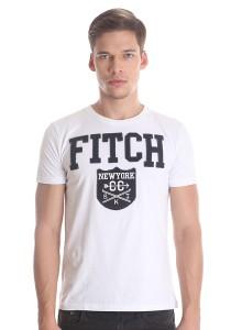 Abercrombie & Fitch Men's Short Sleeve T-shirt [880] White