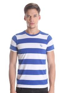 Abercrombie & Fitch Men's Short Sleeve T-shirt [3008] Blue