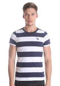 Abercrombie & Fitch Men's Short Sleeve T-shirt [3008] Dk. Blue