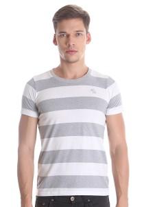 Abercrombie & Fitch Men's Short Sleeve T-shirt [3008] Grey
