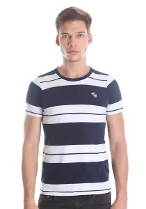 Abercrombie & Fitch Men's Short Sleeve T-shirt [3014] Dk. Blue