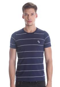 Abercrombie & Fitch Men's Short Sleeve T-shirt [3019] Dk. Blue