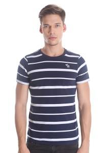 Abercrombie & Fitch Men's Short Sleeve T-shirt [3001] Dk. Blue