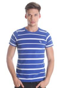 Abercrombie & Fitch Men's Short Sleeve T-shirt [3001] Blue