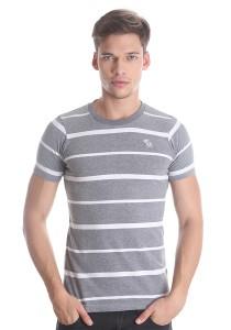 Abercrombie & Fitch Men's Short Sleeve T-shirt [3001] Grey