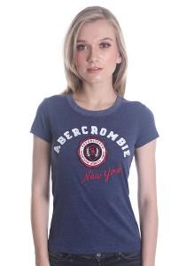 Abercrombie & Fitch Women's Short Sleeve T-shirt [A13] Denim