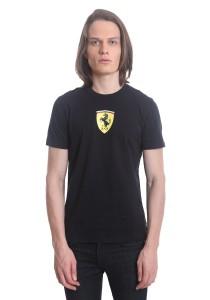 Ferrari Men's Short Sleeve Shield T-shirt [10565] Black