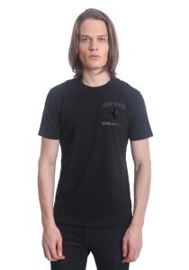 Ferrari Men's Short Sleeve Prancing Horse T-shirt [F1] Black