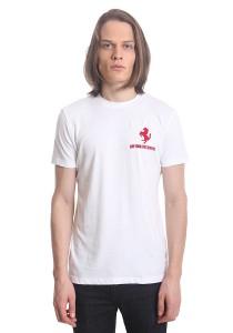 Ferrari Men's Short Sleeve Prancing Horse T-shirt [F1] White