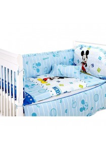 Mickey Premium Baby Bedding Set - 5 pcs