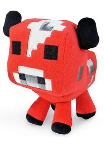 Minecraft Baby Mooshroom Plush Toy Red