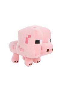 Minecraft Baby Pig Plush Toy Pink