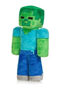 Minecraft Zombie Plush Toy 18cm Green