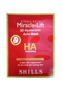 Shills Miracle-Lift 3D Hyaluronic Acid Mask (5 pcs)