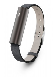 Misfit Ray Fitness and Sleep Tracker with Black Leather Band