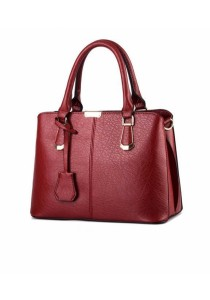 Ladies Leather Handbag Tote Bag #7: Deluxe Briefcase Design