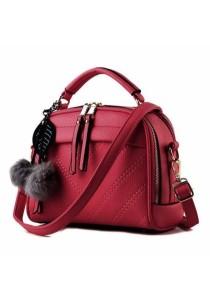 Ladies Elegant Design Leather Dinner Handbag Cross Body Sling Bag
