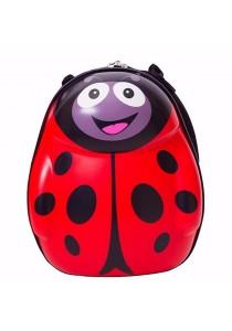 "Kid 3D Animal Design Hard Case ABS Shell Lightweight 13"" Backpack School Bag"